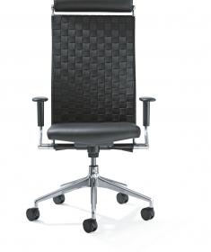 Girsberger Corpo leren bureaustoel