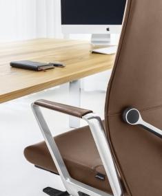 Detailfoto Girsberger bureaustoel