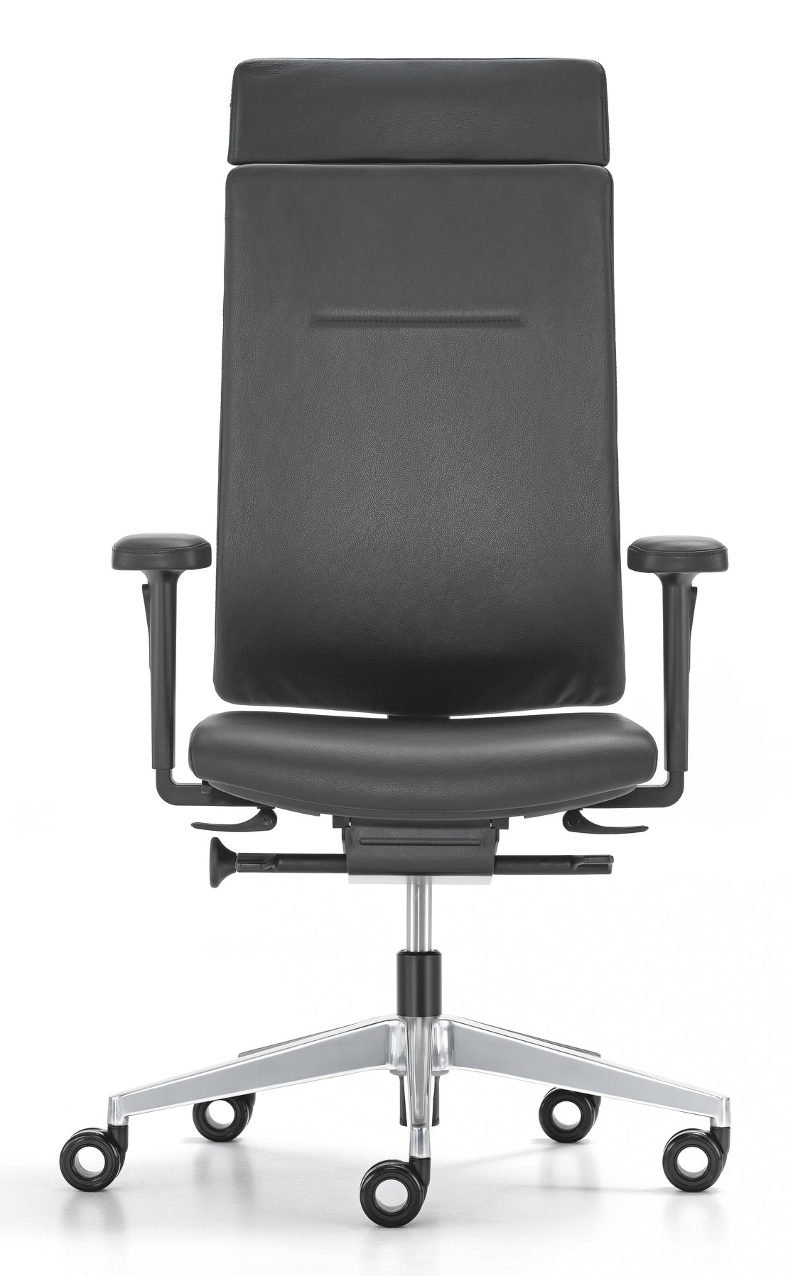 Girsberger Leren Bureaustoel